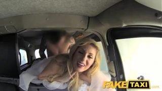 Fake Taxi Runaway bride needs big cock