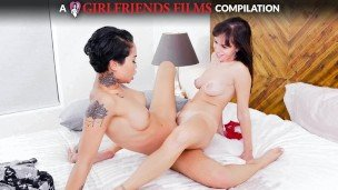 GirlfriendsFilms – Lesbian Scissoring Compilation Pt 2