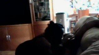 spying my BBW Mom rimming her BF
